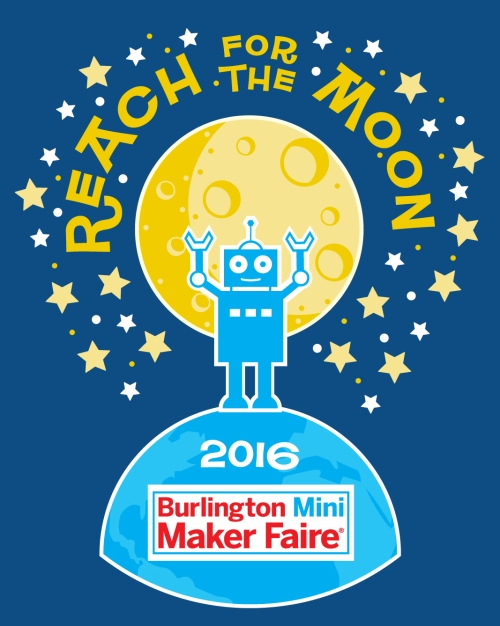 Reach for the Moon! T-Shirt design.